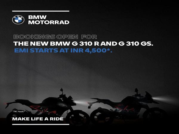 The new BMW G 310 R and BMW G 310 GS at just Rs 4,500 per month