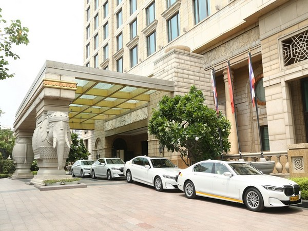 BMW Fleet at The Leela Palaces, Hotels and Resorts