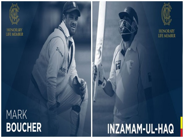 Mark Boucher and Inzamam-ul-Haq (Photo/Lord's)