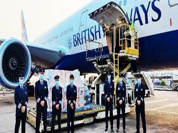 As the humanitarian crisis in India worsens, British Airways has flown a Boeing 777-200 aircraft loaded with emergency aid to Delhi.