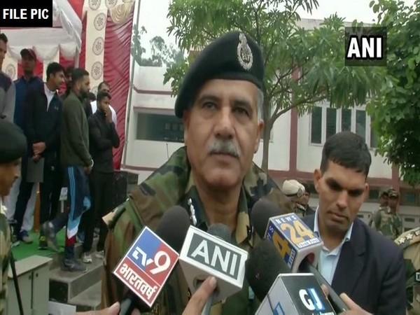 NS Jamwal,  Inspector General BSF (File photo)
