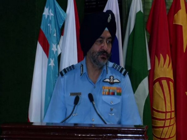 Air Force Chief BS Dhanoa speaking at the Military Medicine Conference on Thursday. Photo/ANI