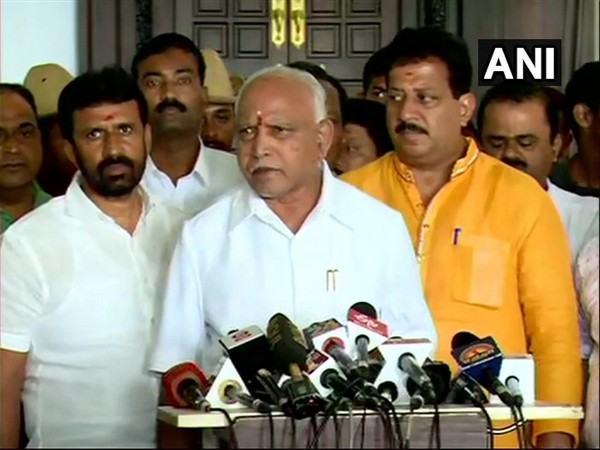 Karnataka BJP unit president BS Yeddyurappa. (File photo/ANI)