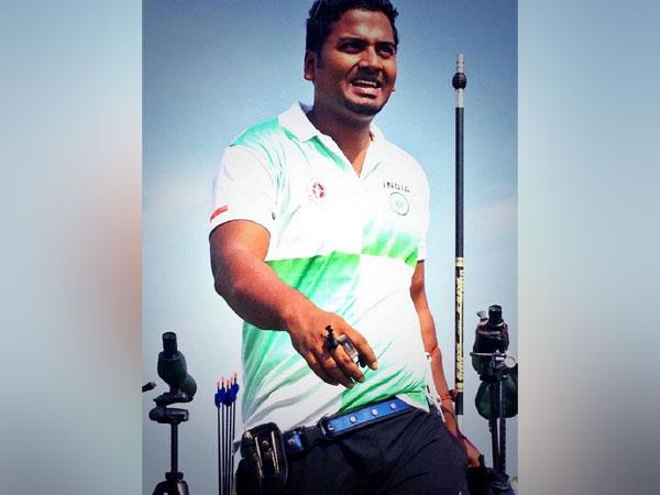 Indian archer Jayanta Talukdar (Image: World Archery's Twitter)
