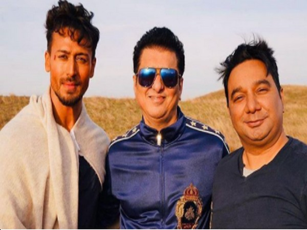 Actor Tiger Shroff, director Ahmed Khan, and producer Sajid Nadiadwala (Image Source: Instagram)