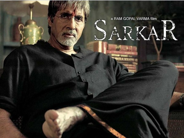 Poster of the film 'Sarkar' featuring legendary actor Amitabh Bachchan (Image source: Twitter)