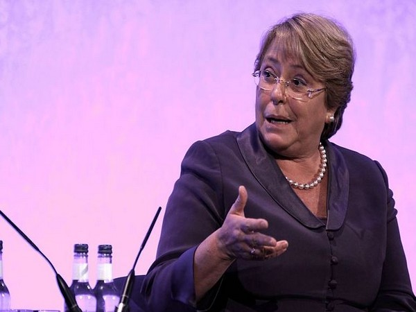 United Nations High Commissioner for Human Rights Michelle Bachelet (File photo)