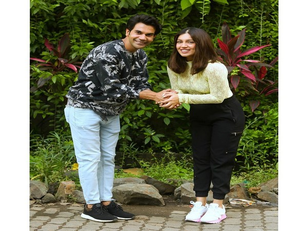 Actor Bhumi Pednekar and Actor Rajkummar Rao. (Image Courtesy: Bhumi Pednekar Twitter)