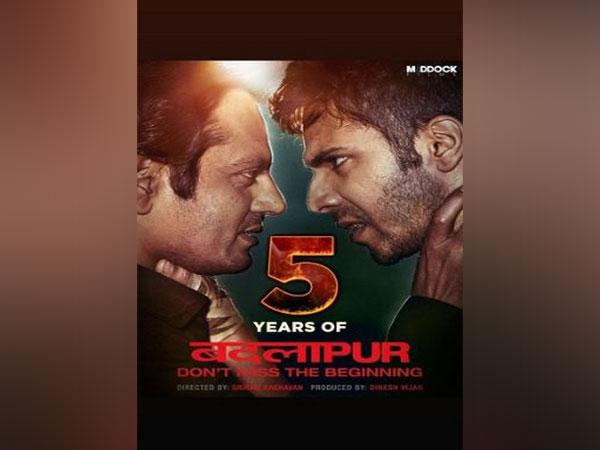 A poster of 'Badlapur' movie. (Image courtesy: Instagram)