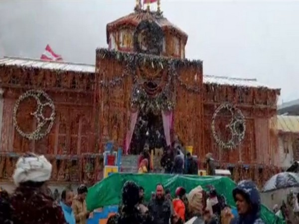 Badrinath shrine in Chamoli district (Photo/ANI)