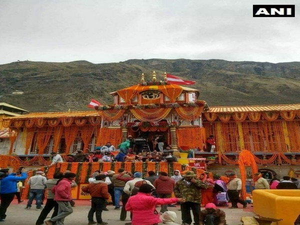 The portals of the Badrinath temple have been closed due to the winter season.