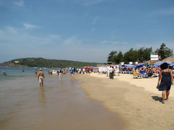 Goa's Baga beach