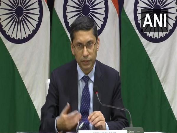 MEA spokesperson Arnidam Bagchi (ANI)