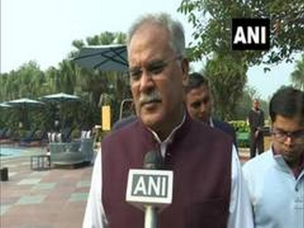 Chhattisgarh Chief Minister Bhupesh Baghel (File pic)