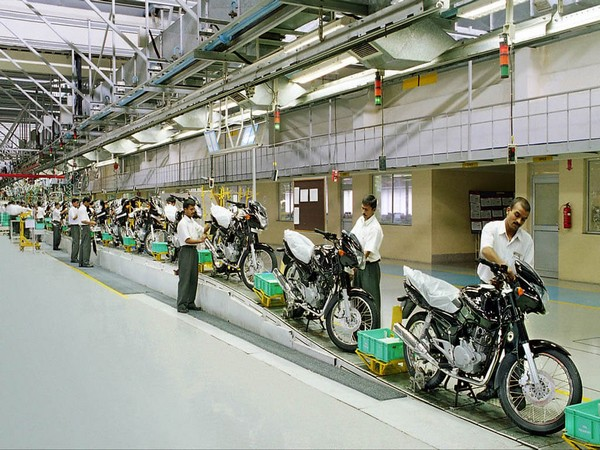 The company is the world's third largest manufacturer of motorcycles