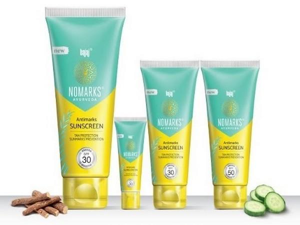 Bajaj Nomarks, Ayurveda Antimarks Suncreen Range