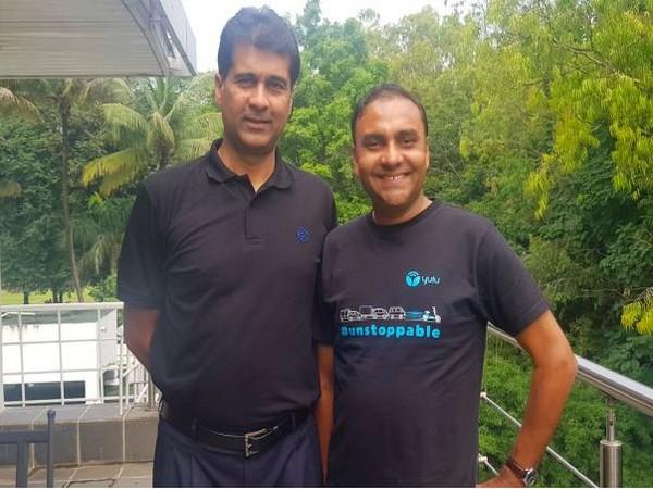 BAL's Managing Director Rajiv Bajaj (left) and Yulu's Co-Founder and CEO Amit Gupta