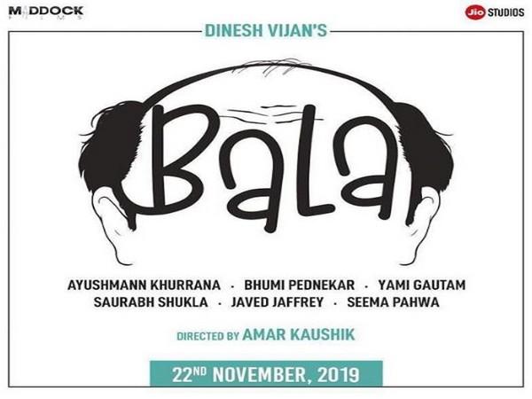 Poster of 'Bala' (Image courtesy: Instagram)