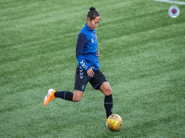 Bala Devi, India's first woman professional footballer (Photo/ Bala Devi Twitter)