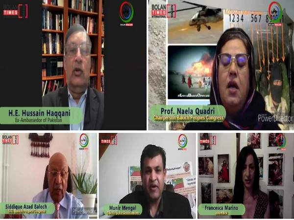 Paris-based NGO, the Baloch Voice Association, recently organised a virtual conference