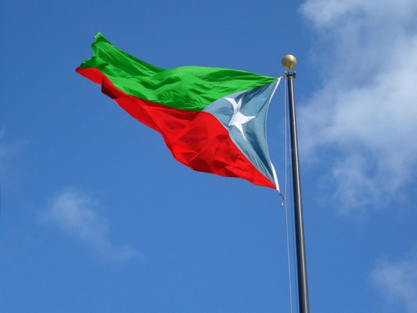 A plane with an anti-Pakistan was spotted flying over Edgbaston stadium on Thursday. (Photo courtesy:  WBO Twitter handle).