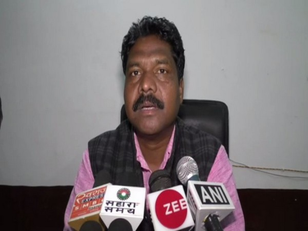 Sub-Divisional Magistrate (SDM) Wadraf Nagar Baleswar Ram speaking to reporters on Thursday. Photo/ANI