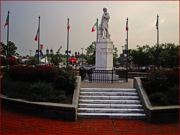Christopher Columbus statue in Baltimore (File photo)