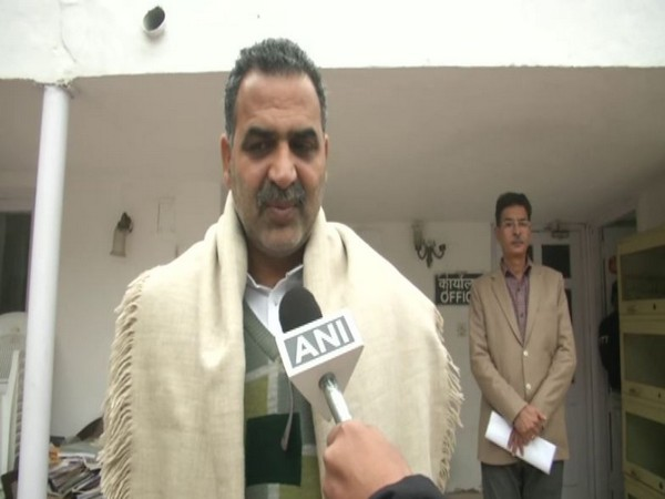 Union Minister Sanjeev Balyan speaking to ANI in New Delhi on Monday. Photo/ANI