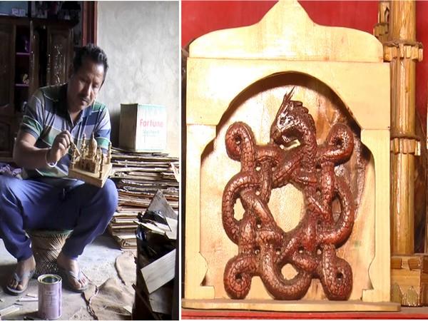 Konsam Diban, a craftman