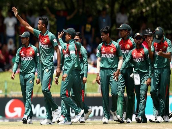 Bangladeshi cricket team (Photo/Cricket World Cup Twitter)