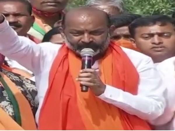 BJP Telangana unit chief Bandi Sanjay Kumar