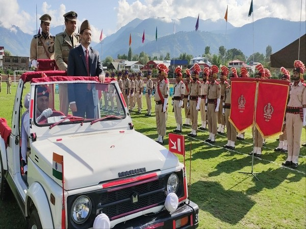 Image from the Independence Day celebration in Bandipora, J-K.