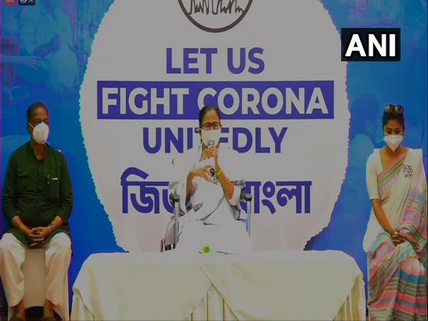 West Bengal Chief Minister Mamata Banerjee during the press confrence. (Photo/ ANI)