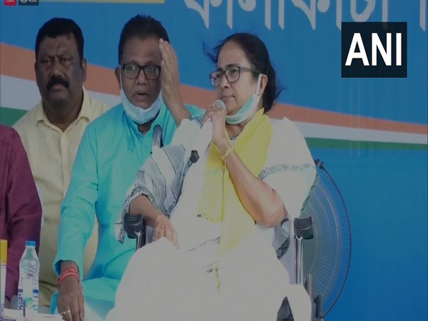Chief Minister Mamata Banerjee addressing a rally in Alipurduar on Friday.