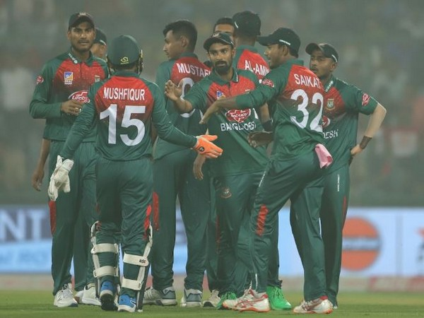 Bangladesh take 1-0 lead in the three-match T20I series against India. (Photo/ BCCI Twitter)