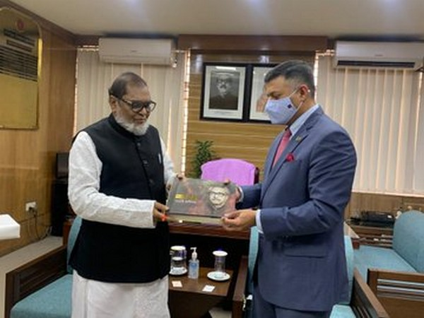 Indian High Commissioner to Bangladesh Vikram Doraiswami on Thursday called on Bangladesh Minister of Liberation War Affairs AKM Mozammel Haque.