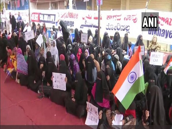 Women hold protest against CAA, NRC in Bengaluru