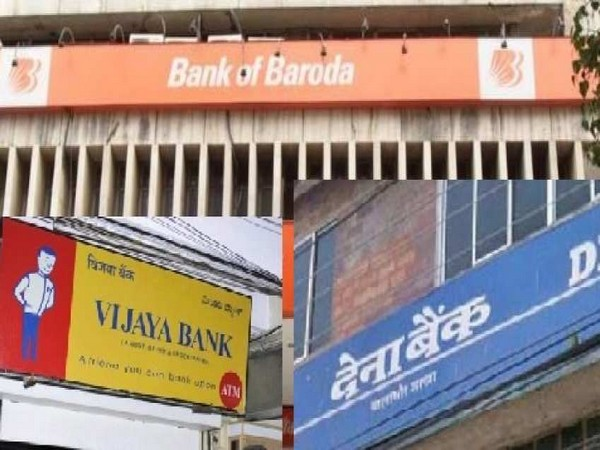 Bank of Baroda, Dena Bank and Vijaya Bank were merged in April