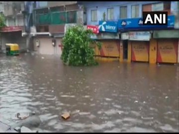 Visual from Ahmedabad's Bapu Nagar area. [Photo/ANI]