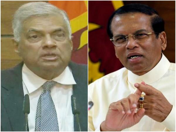 Sri Lankan Prime Minister Ranil Wickremesinghe (left) and President Maithripala Sirisena (right). (File Photo)