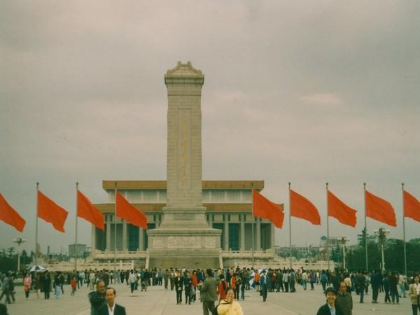 Tiananmen Square monument in Beijing (File pic)