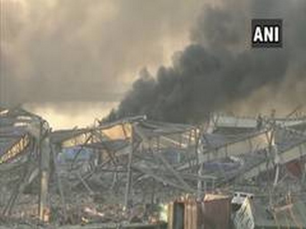 A visual of massive explosion in Beirut (File photo)