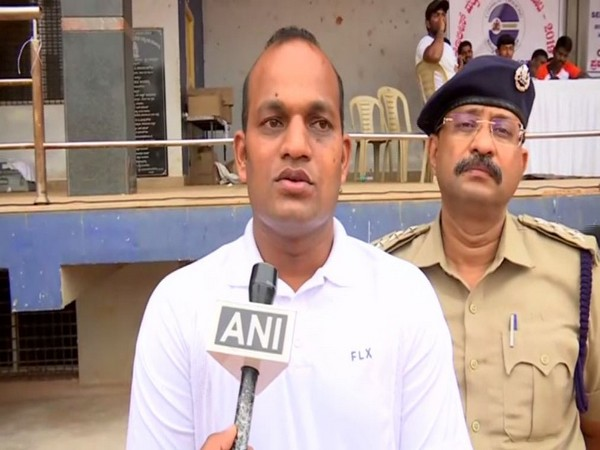 DCP (North) Shashi Kumar speaking to ANI in Bengaluru on Friday. Photo/ANI