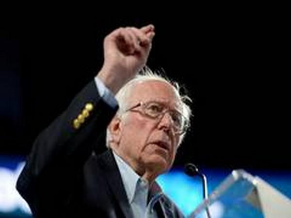 Bernie Sanders, the front-runner for the Democratic US presidential nomination