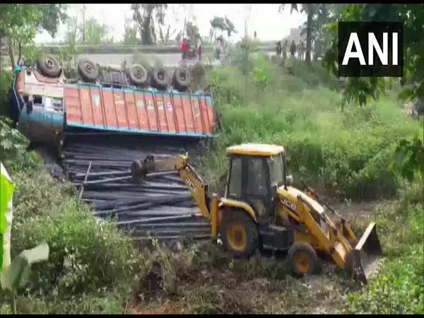 Visuals from the accident site in Naugachhia in Bihar's Bhagalpur district.