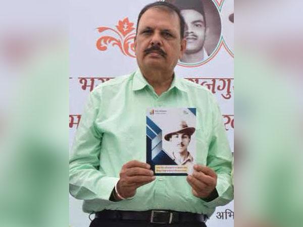 Shaheed Bhagat Singh's nephew Abhay Singh Sandhu (Photo/Twitter)