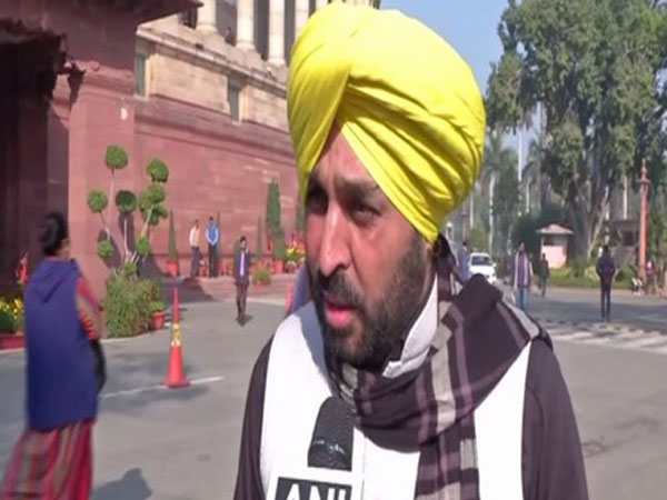 AAP state president and MP Bhagwant Mann. (File Photo/ANI)