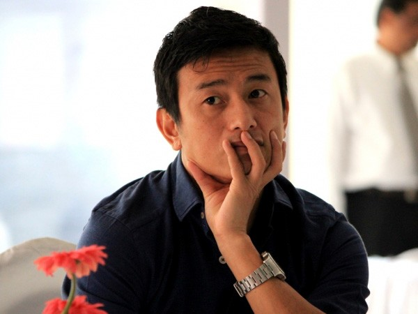 Former Indian football team captain Bhaichung Bhutia (File photo)