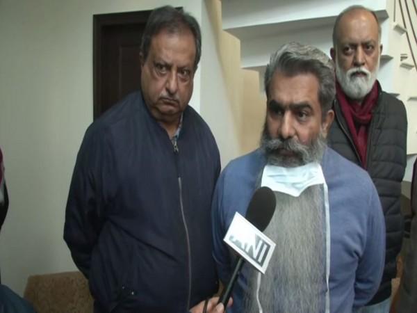 Punjab Food and Civil Supplies Minister Bharat Bhushan Ashu speaking to ANI in Ludhiana on Sunday [Photo/ANI]