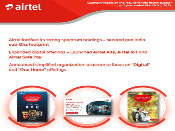 The company has over 47 crore customers in 18 countries across south Asia and Africa
